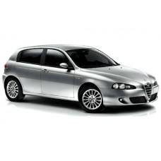 Sonnenschutz Blenden für Alfa Romeo 147 - 5 Türen 2000-2010