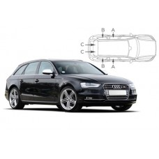 Sonnenschutz Blenden für Audi A4 (B8) Avant 2008-2015