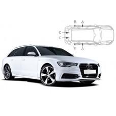 Sonnenschutz Blenden für Audi A6 Avant C7 2011-2018