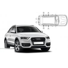 Sonnenschutz Blenden für Audi Q3 (Type 8U) 5 Türen 2011-