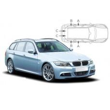 Sonnenschutz Blenden für BMW 3er E91 Touring 2005-2012