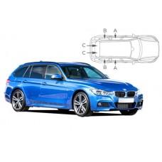 Sonnenschutz Blenden für BMW 3er F31 Touring 2012-2019