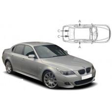 Sonnenschutz Blenden für BMW 5er E60 4 Türen 2004-2010
