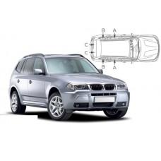 Sonnenschutz Blenden für BMW X3 E83 5 Türen 2003-2010