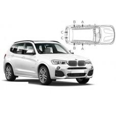 Sonnenschutz Blenden für BMW X3 F25 5 Türen 2010-2017