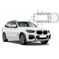 Sonnenschutz Blenden für BMW X3 G01 5 Türen 2018-