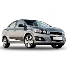 Sonnenschutz Blenden für Chevrolet Aveo 4 Türen 2012-