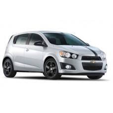 Sonnenschutz Blenden für Chevrolet Aveo 5 Türen 2012-