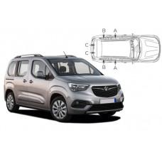 Sonnenschutz Blenden für Opel Combo E Life XL 2018-
