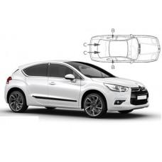 Sonnenschutz Blenden für Citroen DS4 5 Türen 2010-2018