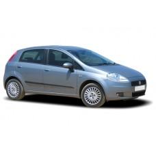 Sonnenschutz Blenden für Fiat Grande Punto / Punto Evo 5 Türen 2005-2014