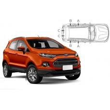 Sonnenschutz Blenden für Ford EcoSport 5 Türen 2014-
