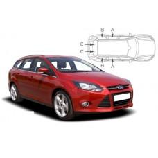 Sonnenschutz Blenden für Ford Focus Kombi 2011-2018