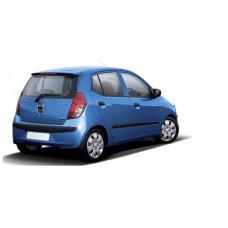 Sonnenschutz Blenden für Hyundai i10 (mit Heckspoiler) 5 Türen Sport 2007-2013