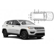 Sonnenschutz Blenden für Jeep Compass 2018-