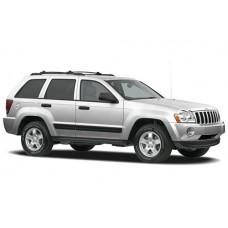 Sonnenschutz Blenden für Jeep Grand Cherokee 5 Türen 2005-2010