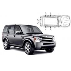 Sonnenschutz Blenden für Land Rover Discovery 3 - 5 Türen 2004-2009