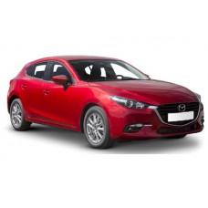 Sonnenschutz Blenden für Mazda 3 (Typ BM) 5 Türen 2013-2018