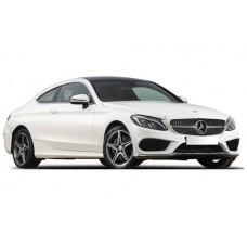Sonnenschutz Blenden für Mercedes-Benz C-Klasse W205 Coupé 2 Türen 2014-
