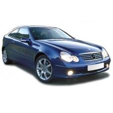 Sonnenschutz Blenden für Mercedes-Benz C-Klasse CL203 - 3 Türen 2001-2007