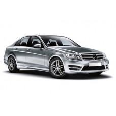 Sonnenschutz Blenden für Mercedes-Benz C-Klasse W204 - 4 Türen 2007-2014