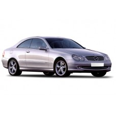 Sonnenschutz Blenden für Mercedes-Benz CLK C209 2002-2009