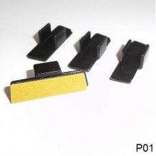 Sonnenschutz Klebeclip Typ P01 (4 Stk.)
