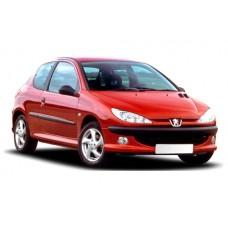 Sonnenschutz Blenden für Peugeot 206 3 Türen 1998-2006