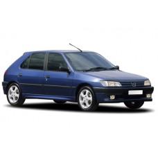 Sonnenschutz Blenden für Peugeot 306 5 Türen 1993-2002