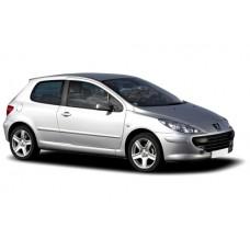 Sonnenschutz Blenden für Peugeot 307 3 Türen 2003-2008