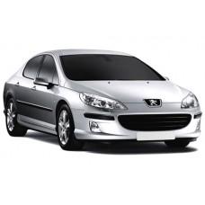 Sonnenschutz Blenden für Peugeot 407 4 Türen 2004-2010