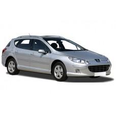 Sonnenschutz Blenden für Peugeot 407 Kombi 2004-2010