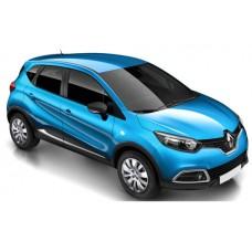 Sonnenschutz Blenden für Renault Captur 5 Türen 2013-