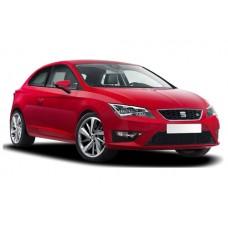 Sonnenschutz Blenden für Seat Leon (Typ 5F) 3 Türen 2012-2020