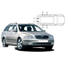 Sonnenschutz Blenden für Skoda Octavia II Kombi 2004-2013