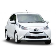 Sonnenschutz Blenden für Toyota Aygo 3 Türen 2014-
