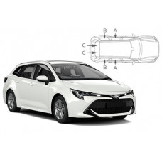 Sonnenschutz Blenden für Toyota Corolla Touring Sports 2018-