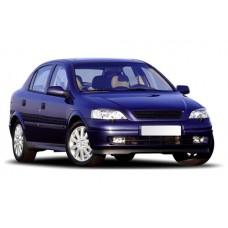 Sonnenschutz Blenden für Opel Astra G - 5 Türen 1998-2004