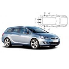 Sonnenschutz Blenden für Opel Astra J Sports Tourer 2010-2015