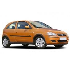 Sonnenschutz Blenden für Opel Corsa C 3 Türen 2000-2006