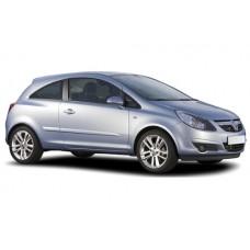 Sonnenschutz Blenden für Opel Corsa D 3 Türen 2006-2014