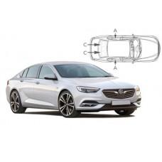 Sonnenschutz Blenden für Opel Insignia B 5 Türen 2017-