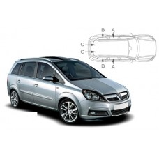 Sonnenschutz Blenden für Opel Zafira B 5 Türen 2005-2012