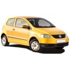 Sonnenschutz Blenden für Volkswagen Fox 3 Türen 2004-2011