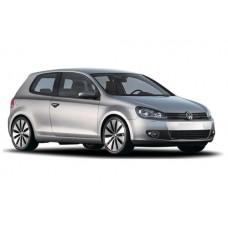 Sonnenschutz Blenden für Volkswagen Golf MK6 - 3 Türen 2009-2012