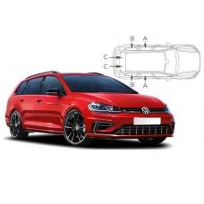 Sonnenschutz Blenden für Volkswagen Golf 7 Variant Kombi 2013-2020