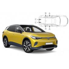 Sonnenschutz Blenden für Volkswagen ID.4 SUV 2020-