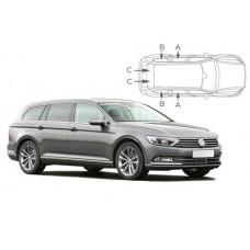 Sonnenschutz Blenden für Volkswagen Passat Kombi B8 2015-