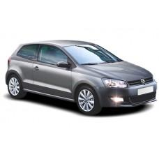Sonnenschutz Blenden für Volkswagen Polo 3 Türen 2009-2017