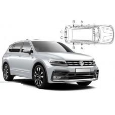 Sonnenschutz Blenden für Volkswagen Tiguan II Allspace 2016-